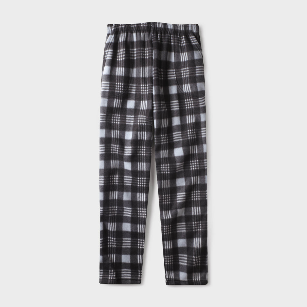 pajama pants_mens pajama pants_mens lounge pants_soft pajama pants_pajama bottoms_pj pants_fleece pajama pants_family pajama pants_Burberry Gray/Black