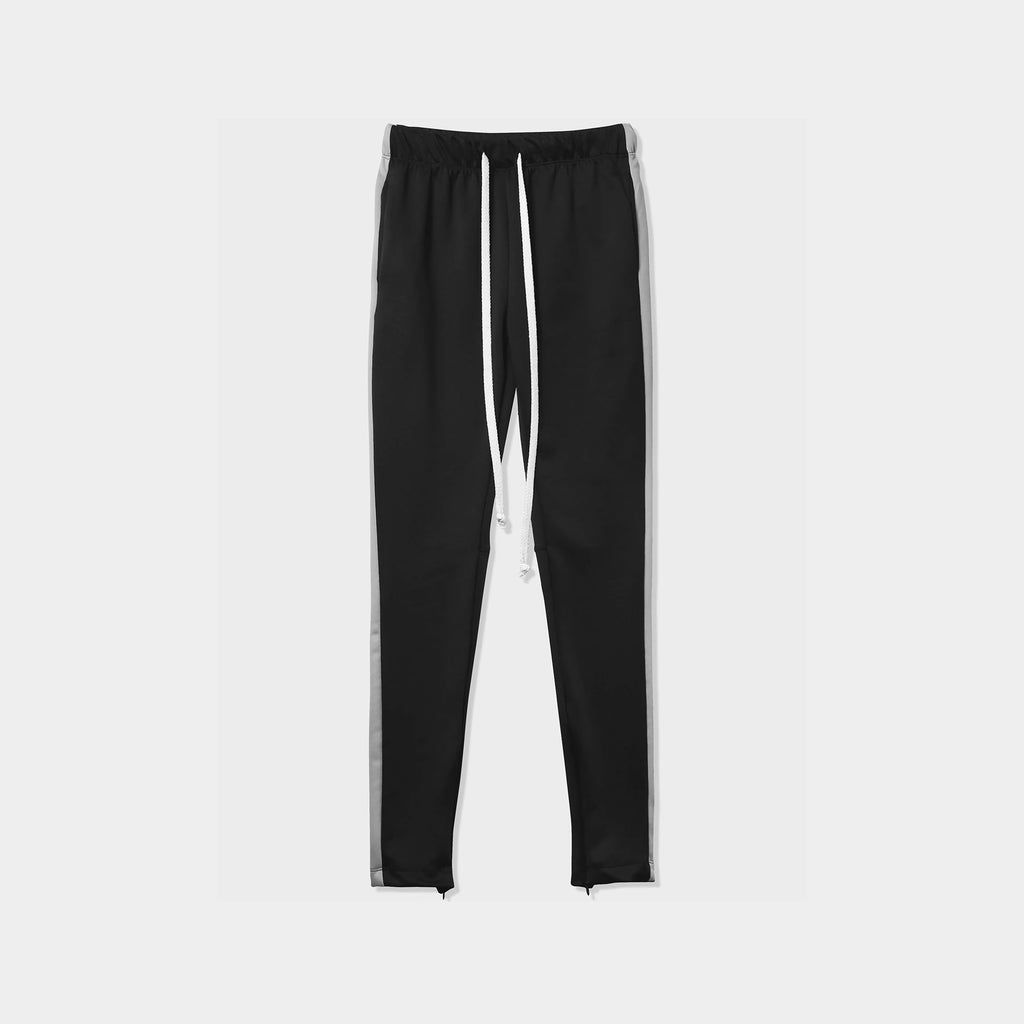 jogger_striped joggers_striped sweatpants_velvet joggers mens_sweatpants_side stripe joggers mens_champion sweatpants_champion joggers_mens joggers_Black/Charcoal
