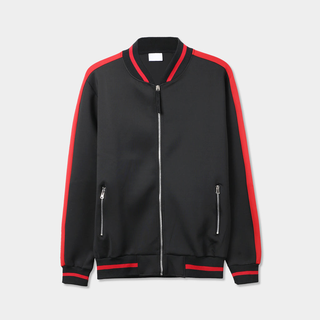 bomber jacket_mens bomber jacket_boys bomber jacket_flying jacket_h&m bomber jacket_champion bomber jacket_athletic bomber jacket_Black/Red
