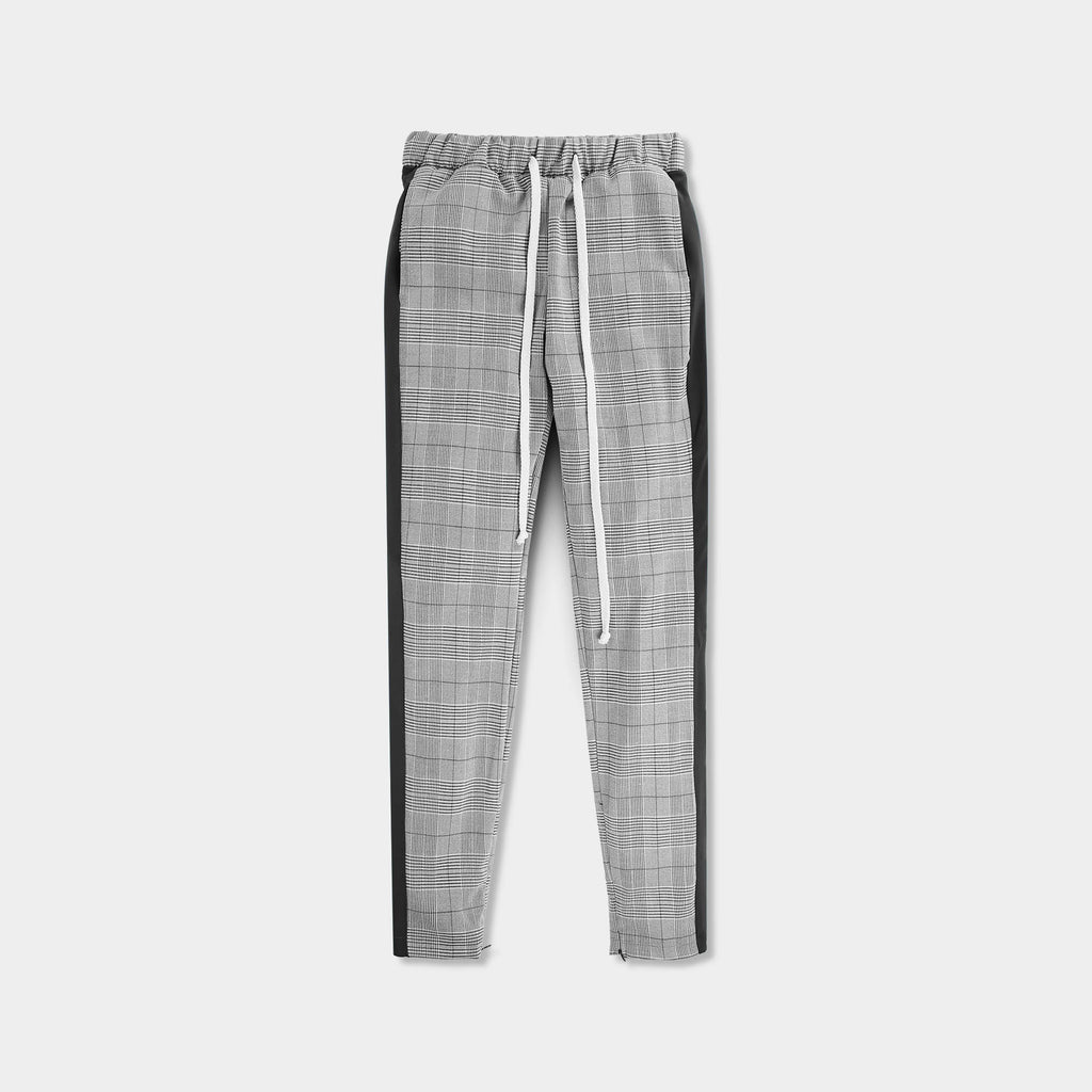 checkered sweatpants_fashion sweatpants_fashion nova sweatpants_trendy sweatpants_stylish sweatpants mens_fashionable sweats_Black