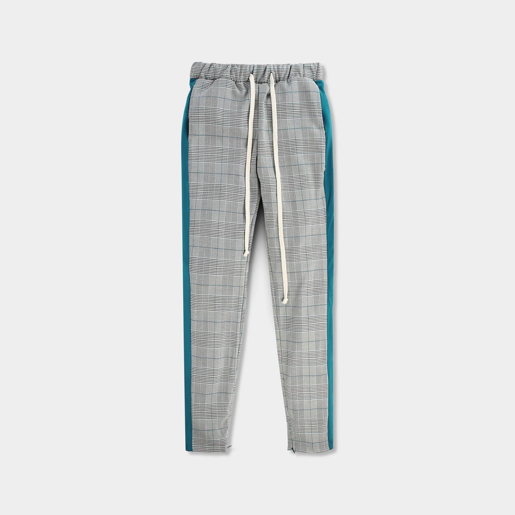 checkered sweatpants_fashion sweatpants_fashion nova sweatpants_trendy sweatpants_stylish sweatpants mens_fashionable sweats_Teal