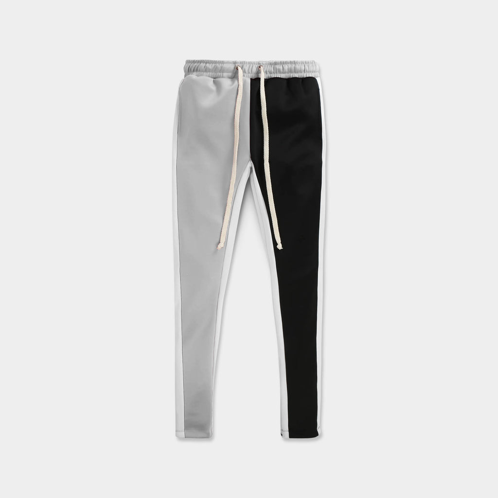 velvet jogger_velvet sweatpants_crushed velvet joggers_velvet joggers mens_gap velvet joggers_crushed velvet sweatpants_champion sweatpants_champion joggers_Gray/White/Black