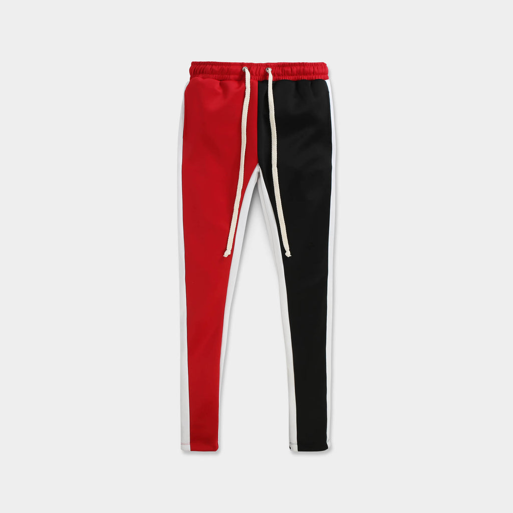 velvet jogger_velvet sweatpants_crushed velvet joggers_velvet joggers mens_gap velvet joggers_crushed velvet sweatpants_champion sweatpants_champion joggers_Red/White/Black