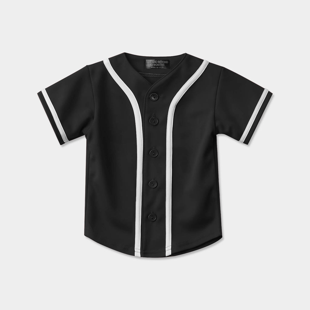 kids baseball jersey_toddler baseball jerseys_boys baseball jersey_boys baseball uniforms_mlb shops_baseball jersey_mlb jerseys_mlb store_Black/White