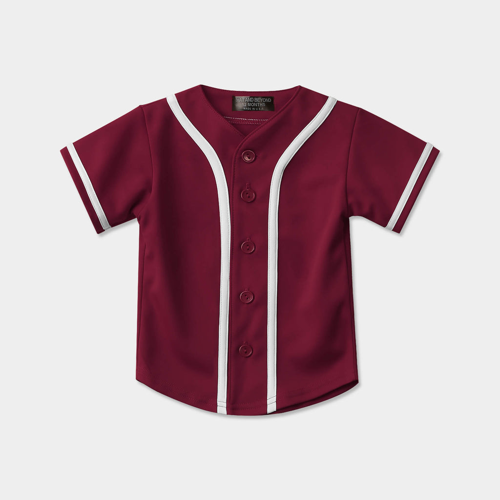 kids baseball jersey_toddler baseball jerseys_boys baseball jersey_boys baseball uniforms_mlb shops_baseball jersey_mlb jerseys_mlb store_Burgundy/White