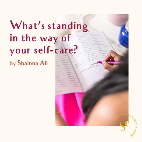dr. shainna ali self-care self-love prompt journaling trend workbook Self Ceremony blog