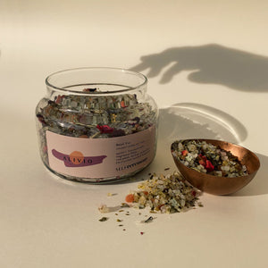 alivio - herbal salt soak / relief