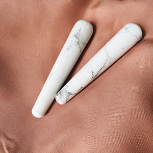 howlite pleasure wand - mini
