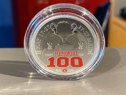 100th Anniversary Memorial Cup Coin