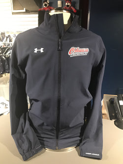 Mens Under Armour Navy Track Jacket