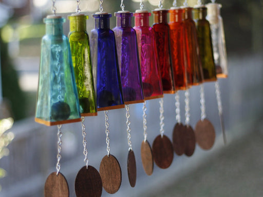 178ml Pyramid Wind Chimes - Blue Ridge Mountain Gifts