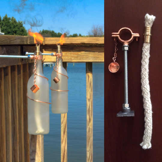 Tiki Torch Hardware Kit - Blue Ridge Mountain Gifts