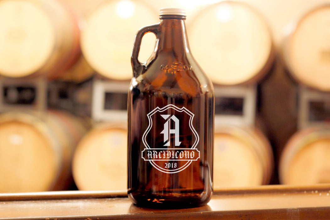 Badge | 64oz Growler