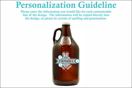 Barley & Hops | 64oz Growler