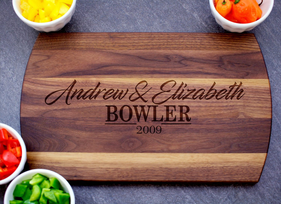 Better Together | Personalized Laser Engraved Cutting Board