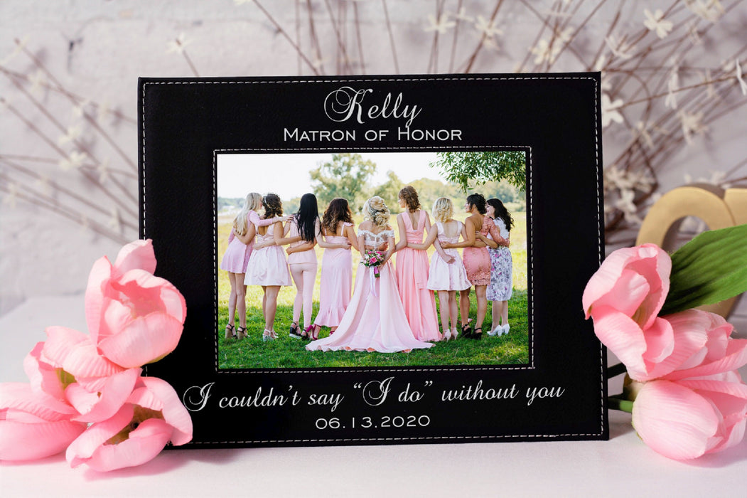 Matron of Honor | Leatherette Picture Frame