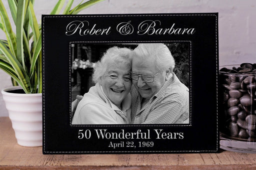 Wonderful Years | Leatherette Picture Frame