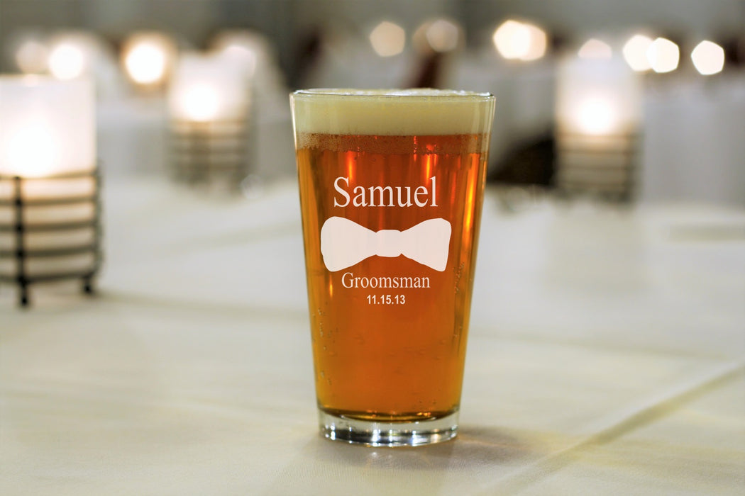 Bowtie | 16oz Pint Glass