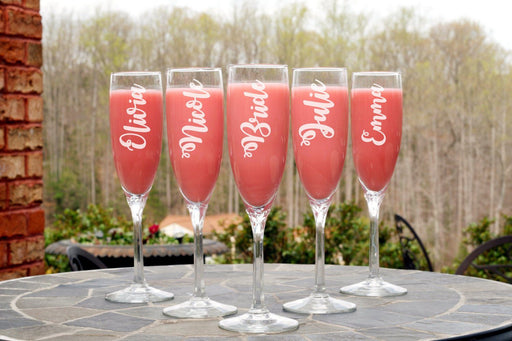 Bridal Party | 6oz Champagne Flute