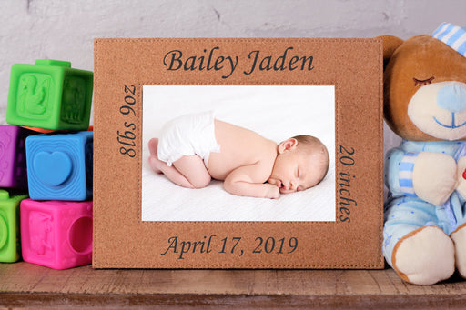 Bundle of Joy | Leatherette Picture Frame