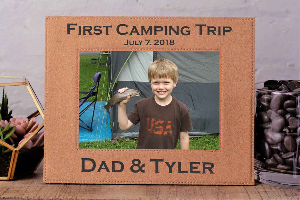 Dad Trip | Leatherette Picture Frame