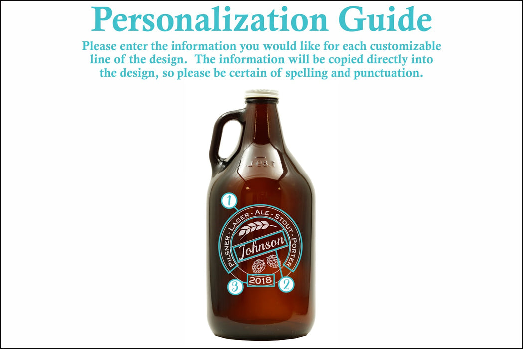 Craft Brew | 64oz Growler