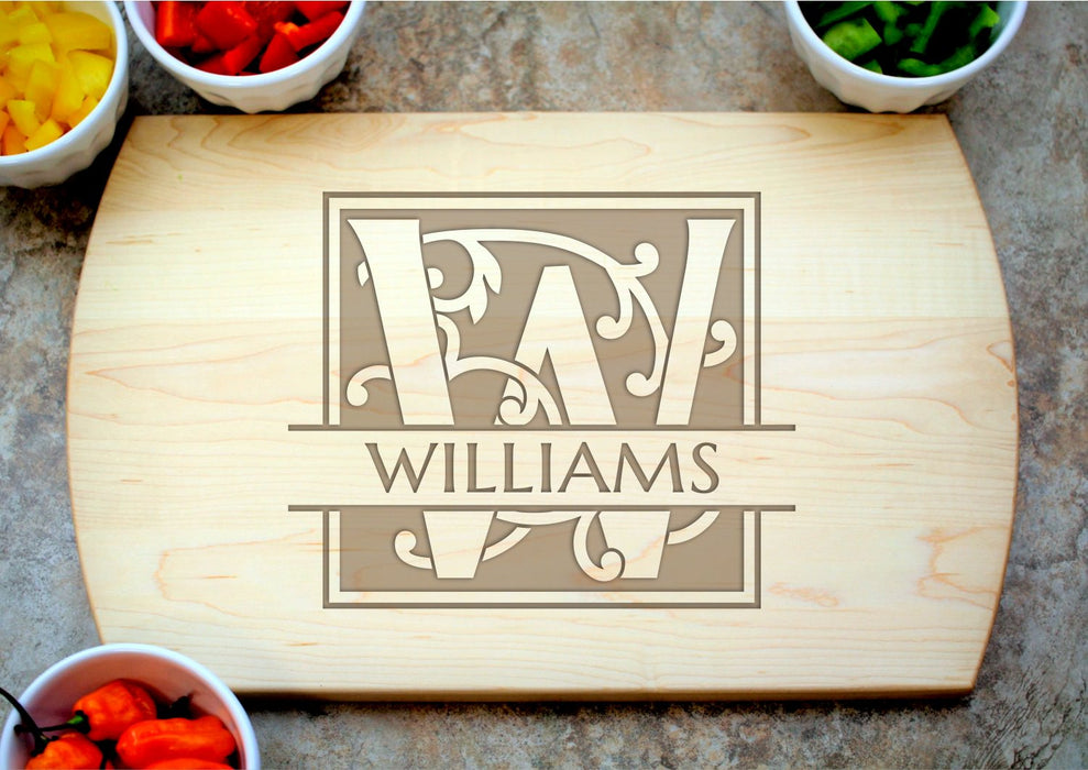 Enchanted | Personalized Laser Engraved Cutting Board