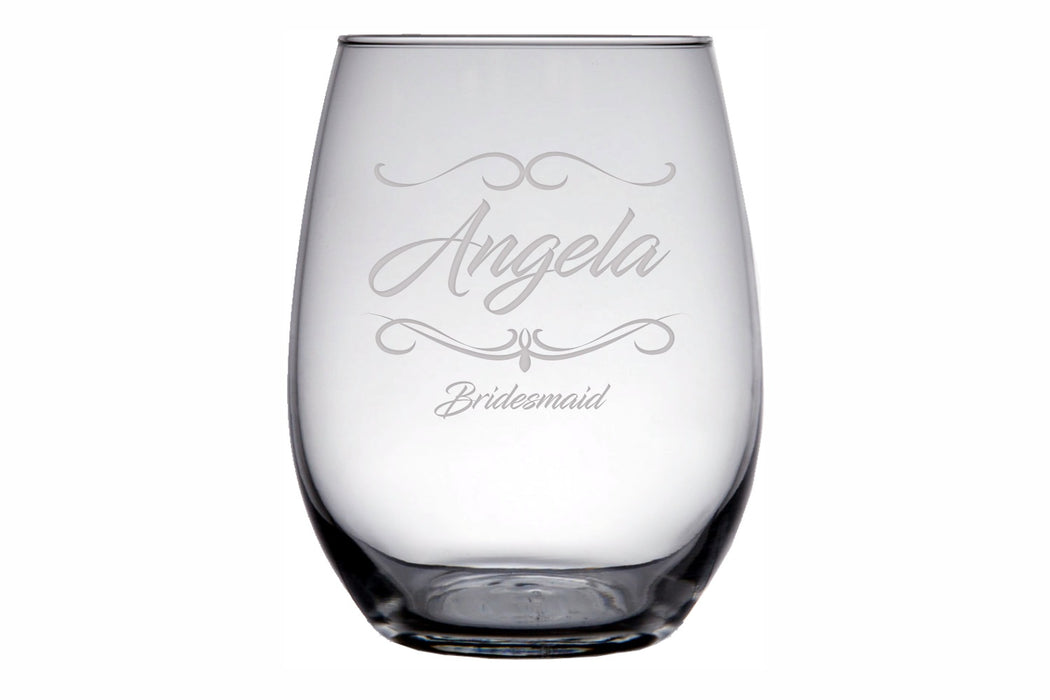 Fancy | 15oz Stemless Wine Glass