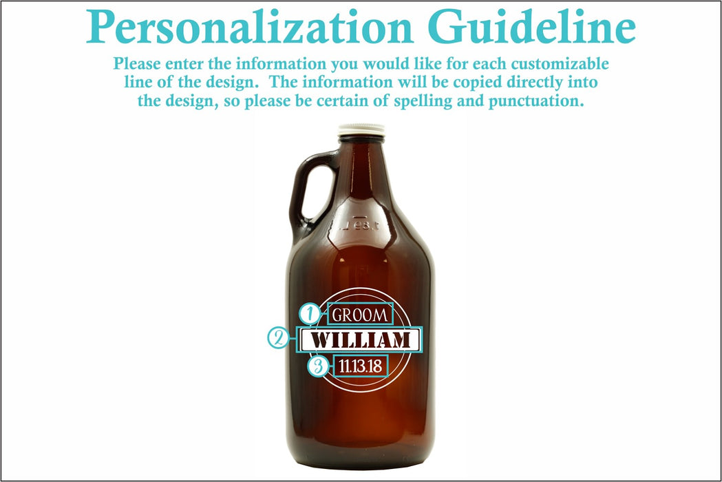 Fellas | 64oz Growler