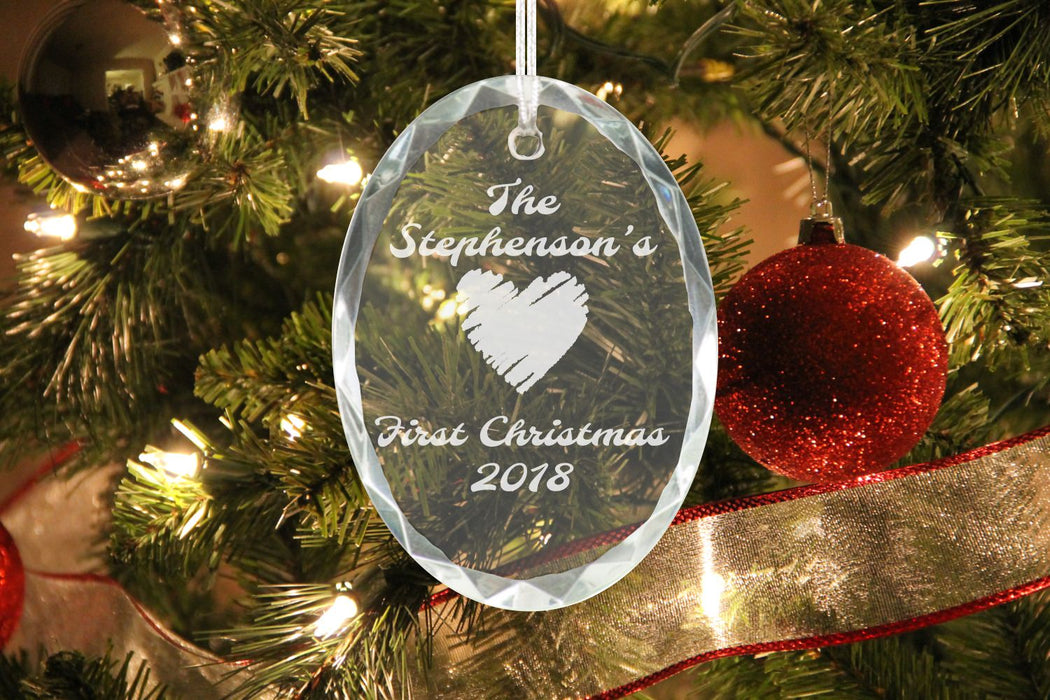 First Christmas Heart | Ornament