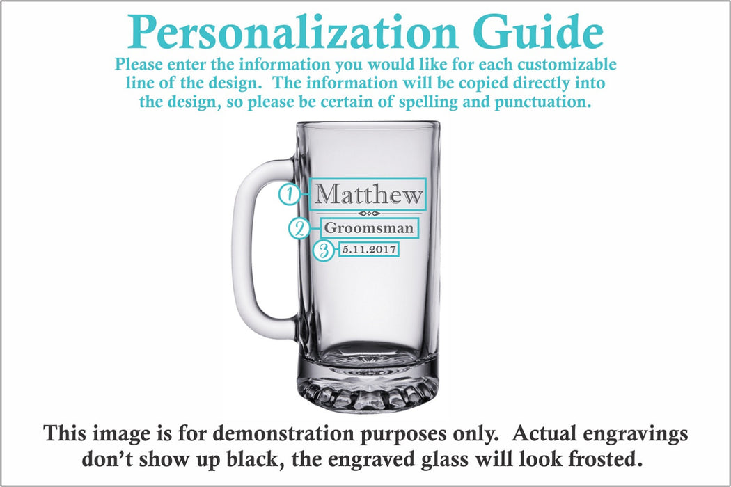 Formal | 16oz Beer Mug