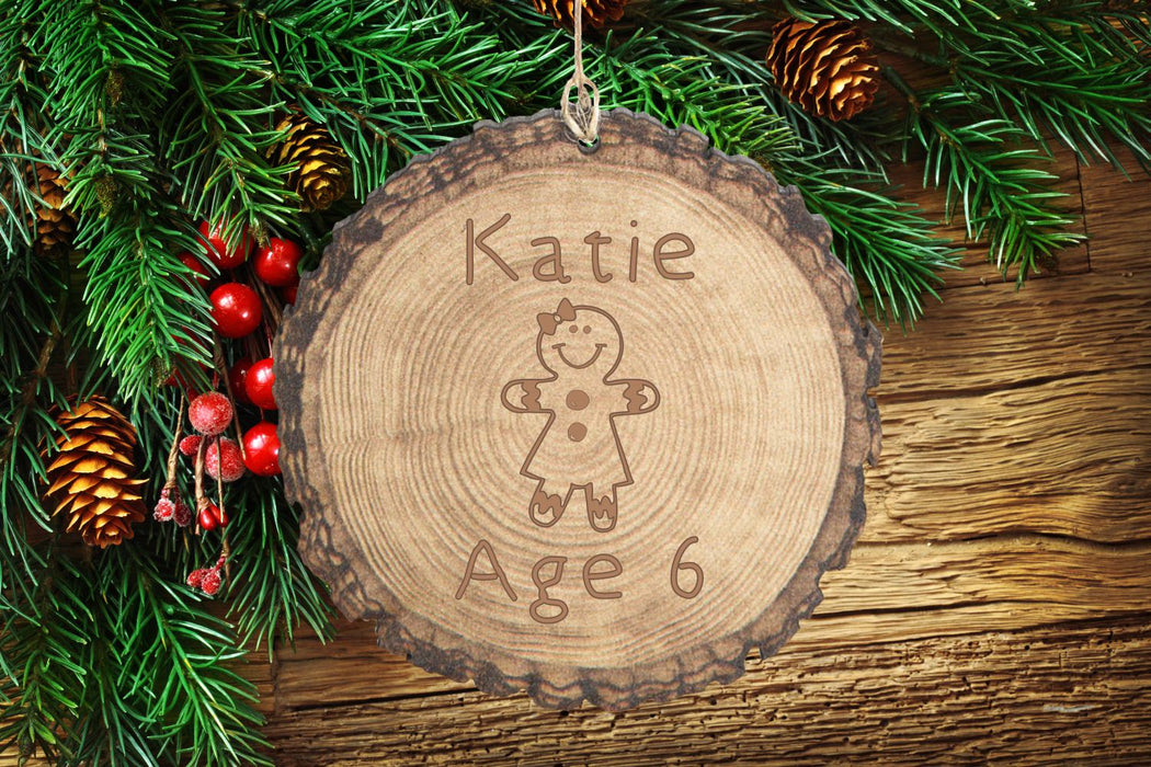 Gingerbread Girl | Ornament