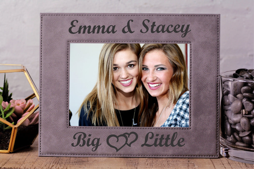 Big & Little | Leatherette Picture Frame