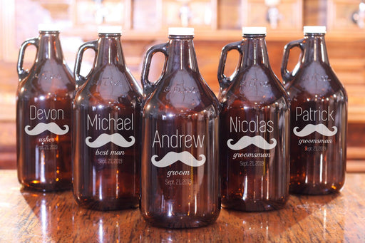 Mustache | 64oz Growler