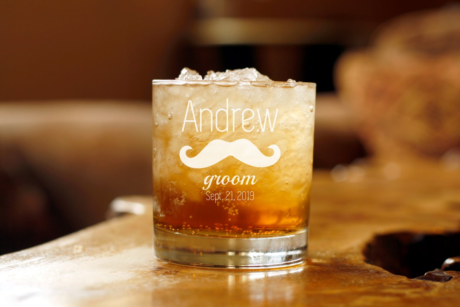 Mustache | 11oz Whiskey Glass