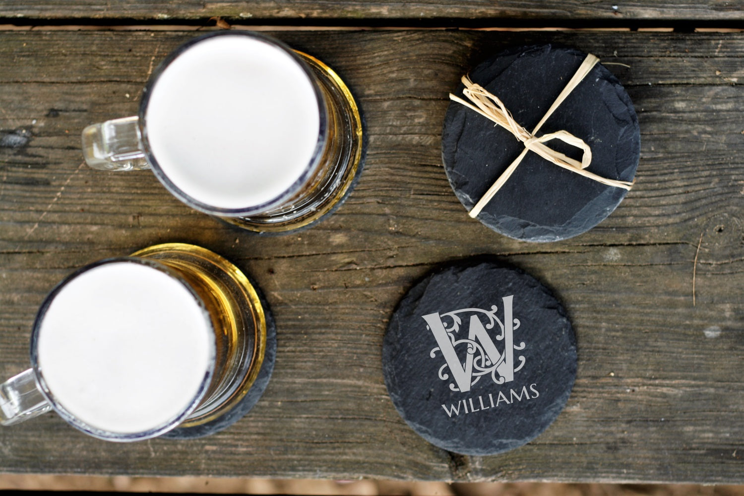 Neverland | Slate Coaster Set