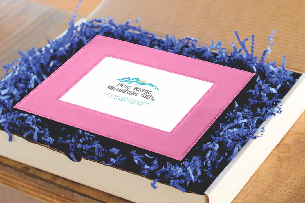 Gender Reveal | Leatherette Picture Frame