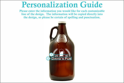 Pub | 64oz Growler