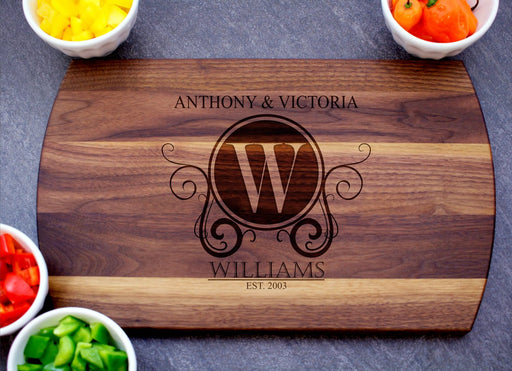 Romance | Personalized Laser Engraved Cutting Board
