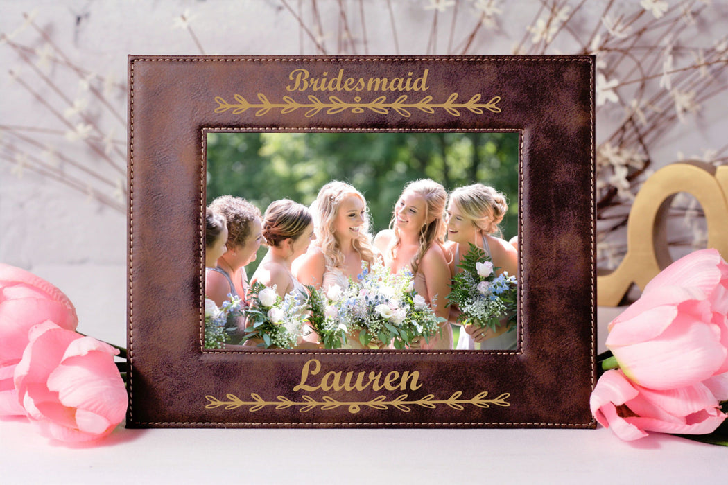 Bridesmaid | Leatherette Picture Frame