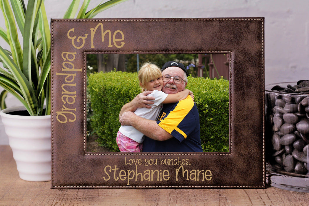 Love You Bunches | Leatherette Picture Frame