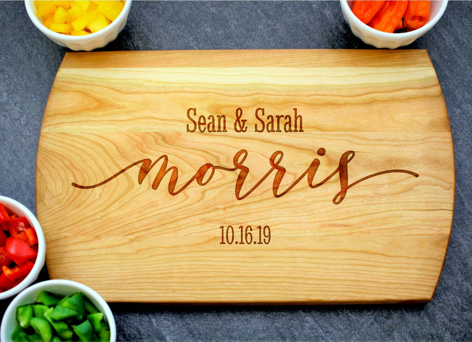 Soulmates | Personalized Laser Engraved Cutting Board