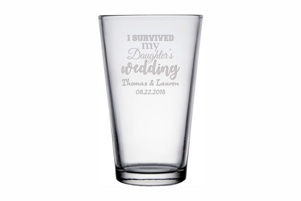 Survived | 16oz Pint Glass