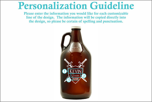 Sword & Shield | 64oz Growler