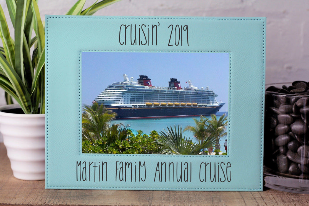 Cruisin' | Leatherette Picture Frame