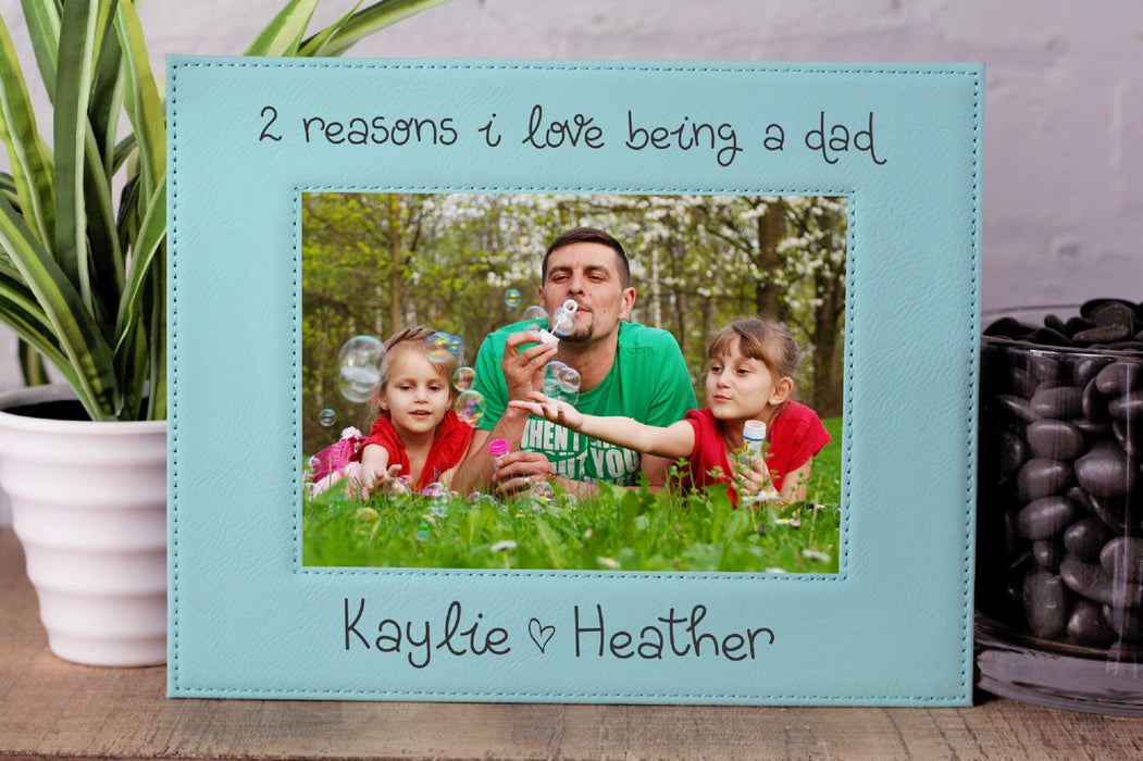Love Dad | Leatherette Picture Frame