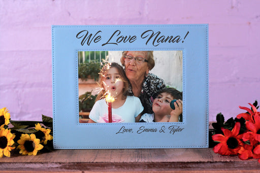 Love Nana | Leatherette Picture Frame
