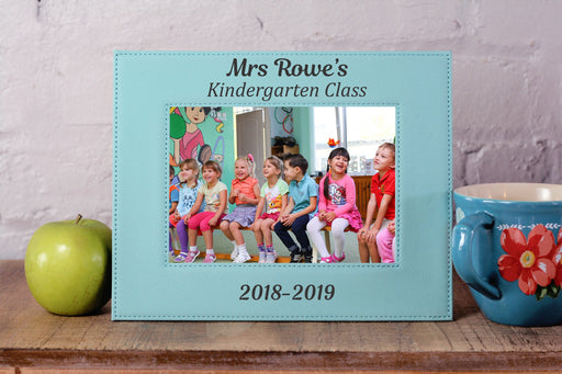Teacher Class Year | Leatherette Picture Frame