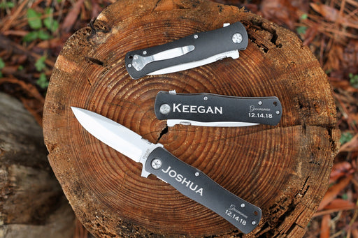 The Original | Black Aluminum Pocket Knife