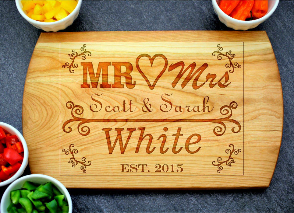 Union | Personalized Laser Engraved Cutting Board